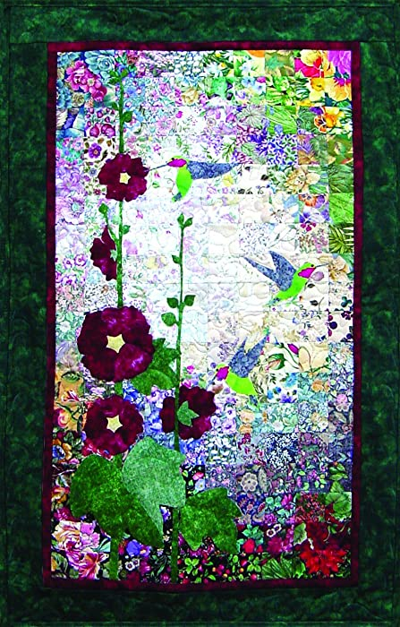 The Best Scrap Petal Garden Quilt Pattern