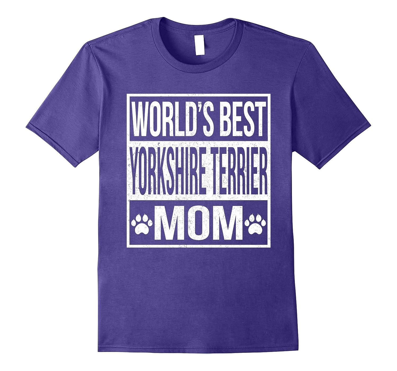 World's Best Yorkshire Terrier Mom Shirt-Art