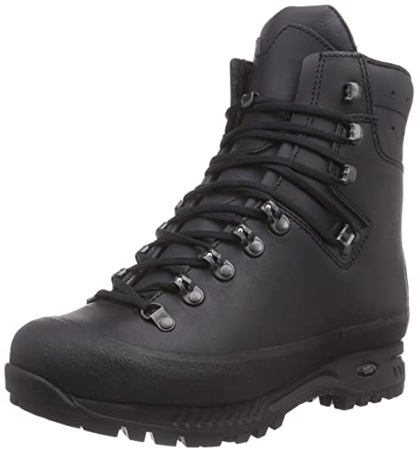 Hanwag Men's Yukon High Rise Hiking Black Size: 9 UK