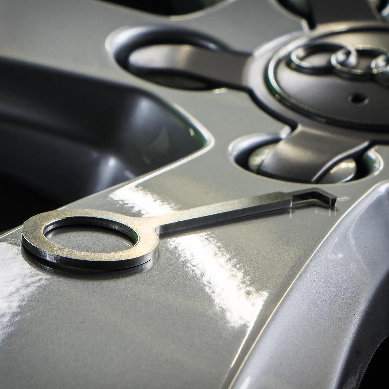 Abziehhaken Für 5 Finger Nabendeckel Felgendeckel Deckel Audi Vw Mam Wheelworld Auto