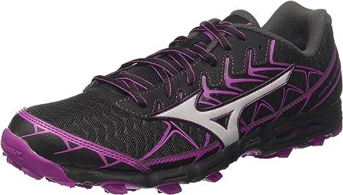 Mizuno Wave Hayate 4 Wos, Chaussures de Running Femme