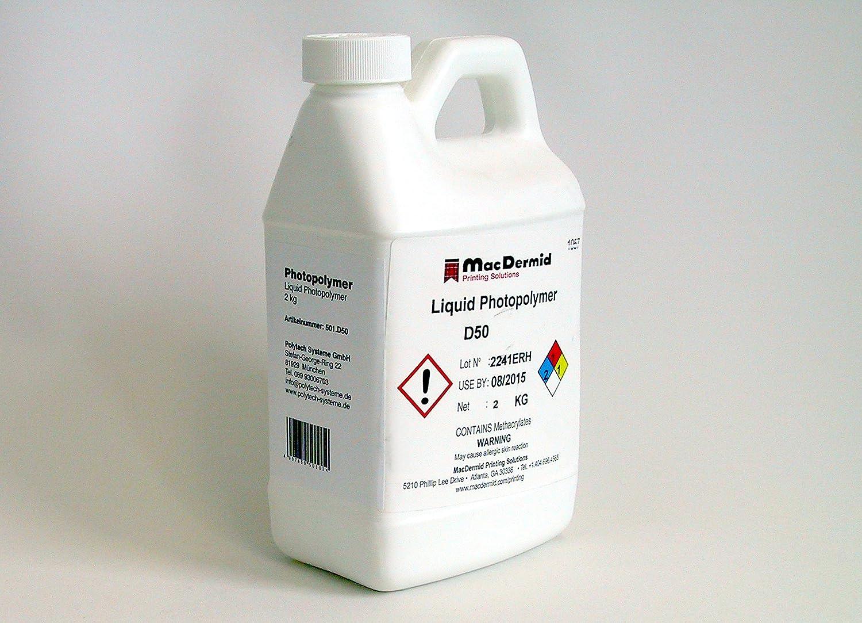 Photo Polymer Liquid, 2 kg: Amazon co uk: Office Products