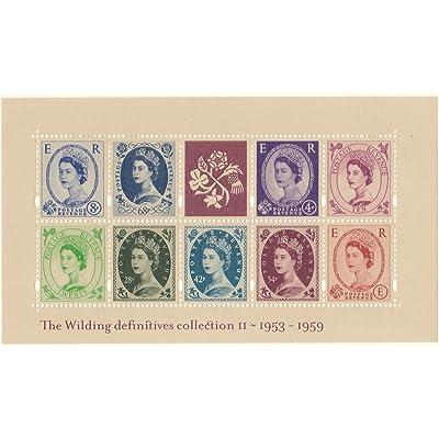 2003 Reine Elizabeth II timbres wildings definitives miniature feuille