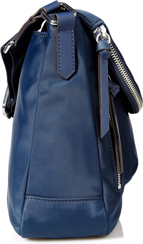 Karl Lagerfeld Paris womens Applique Flap Messenger Bag