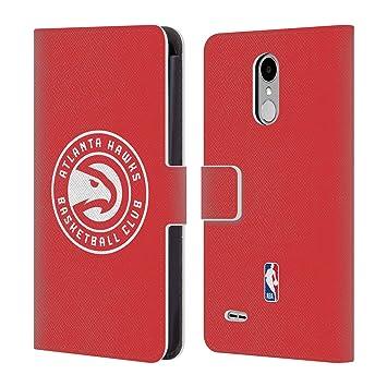 Oficial NBA Atlanta Hawks carcasa tipo Cartera de piel Para LG Teléfonos 1