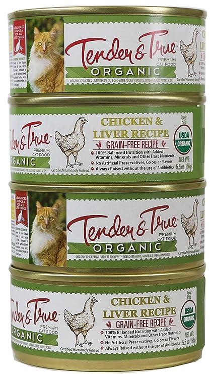 Amazon Tender True 854017 Cat Food Organic Chicken Liver