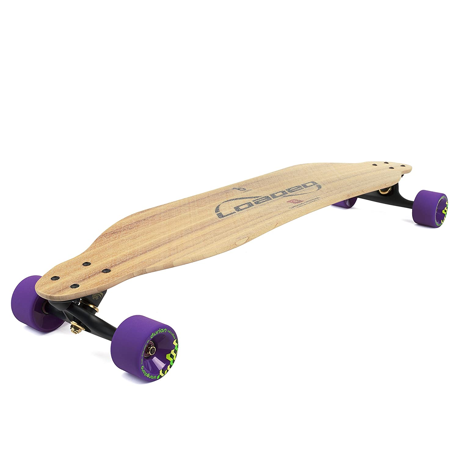 fb8e22674f17 Amazon.com : Loaded Boards Vanguard Bamboo Longboard Skateboard Complete :  Sports & Outdoors