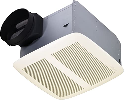 Nutone QTXEN050 Ultra Silent Bath Fan White Grille 50 CFM Energy Star
