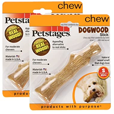 Dogwood Durable Real Wood Dog Chew Toy for Dogs