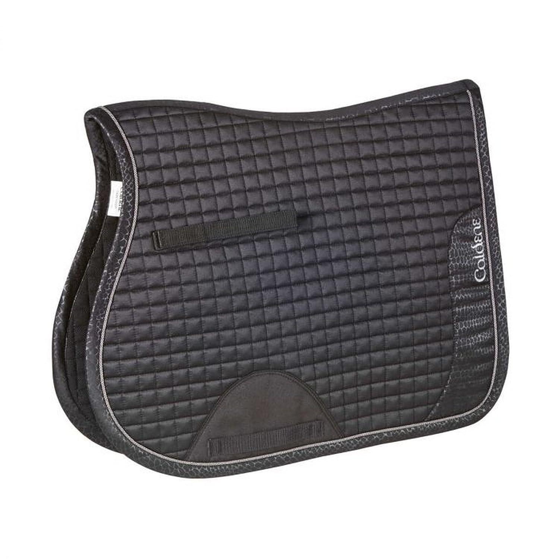 Black Full Black Full Caldene Crocodile GP Saddle Pad (Full) (Black)