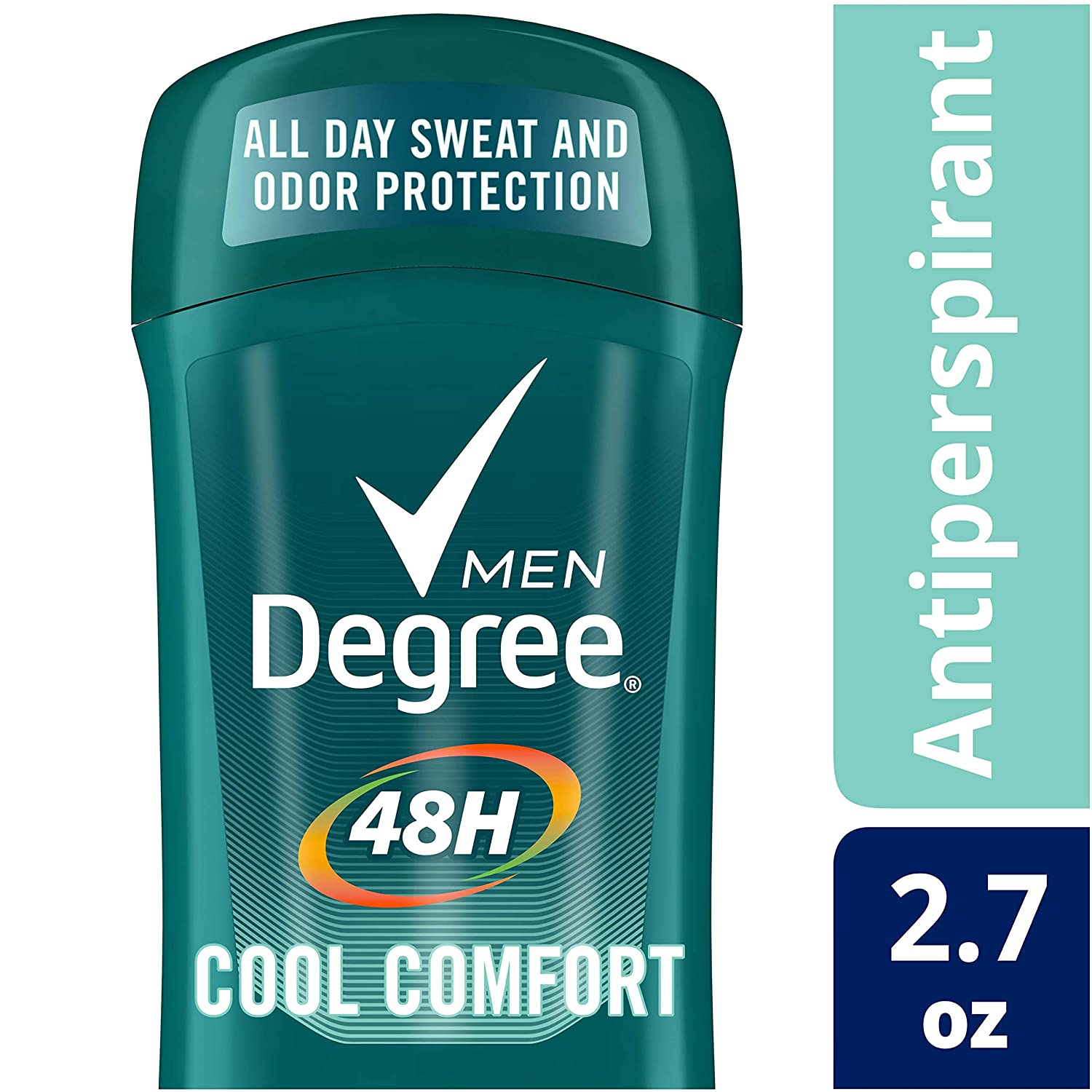 Amazon.com : Degree Cool Comfort Original Protection Antiperspirant Stick,  2.7 oz (Pack of 6) : Beauty