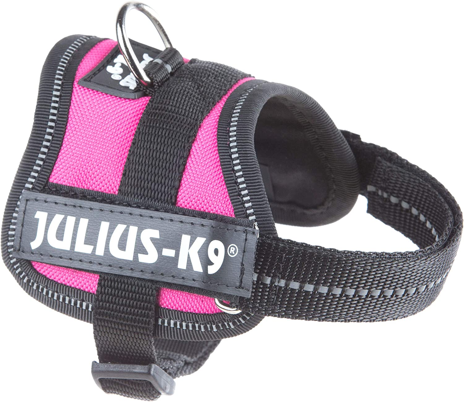 Julius-K9 PowerHarness para perros, color Rosa oscuro, talla Baby ...