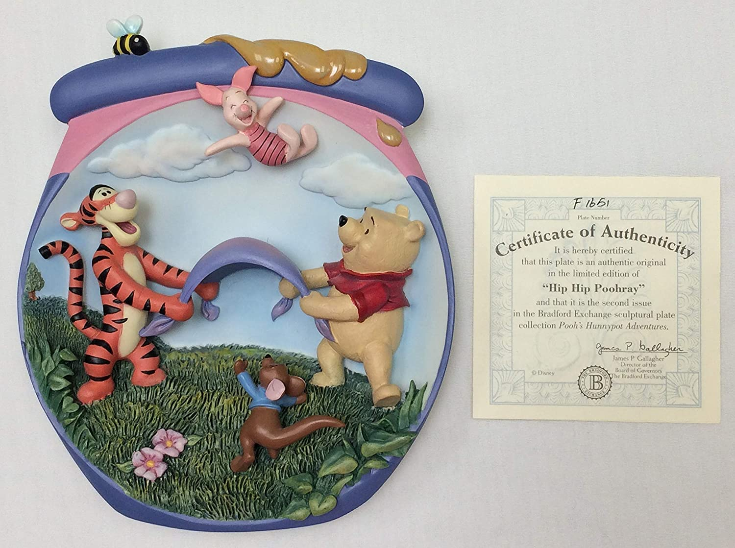 Amazon.com: Winnie the Poohs Hunnypot Adventures 1st Issue Limited Edition 7