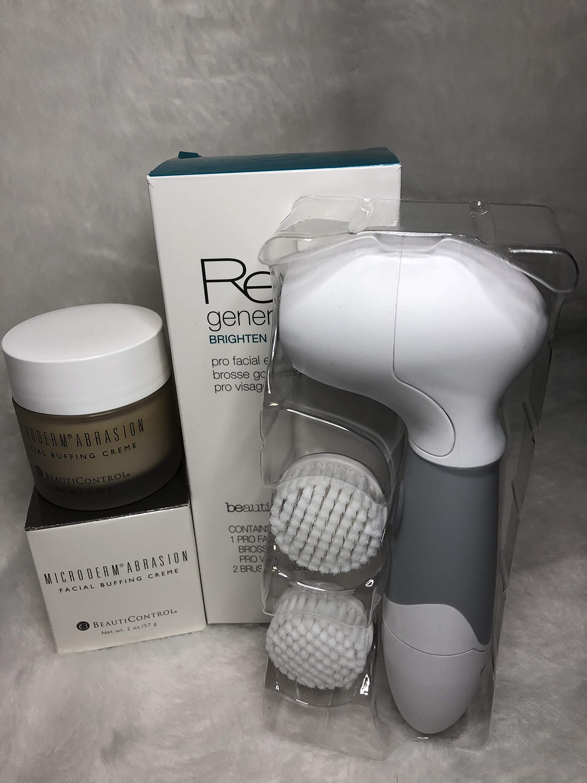 Beauticontrol Microderm Abrasion Creme & Brush by BeautiControl