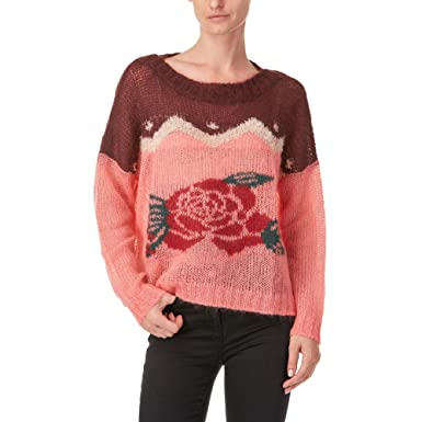 d32daebdfe2cba Image Unavailable. Image not available for. Colour: Twinset Milano Twin-Set  Pullover PA837A Multicolor Size:L