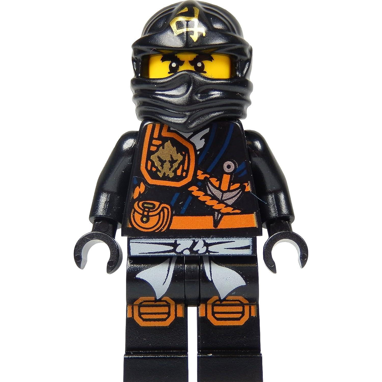 LEGO Ninjago Minifigura - Cole (ninja negro) con katana de ...