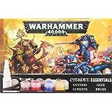 GAMES WORKSHOP 60170199006 Warhammer 40,000 Citadel Essentials Set Game