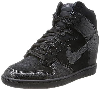 finest selection 91354 9c67b Womens Nike Dunk Sky Hi - Black Black - 528899 004 UK 6  Amazon.co.uk   Shoes   Bags