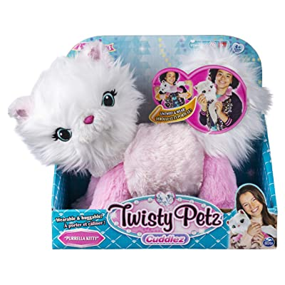 Twisty Petz Cuddlez Purrella Kitty Transforming Collectible Plush for Kids Aged 4 & Up: Toys & Games