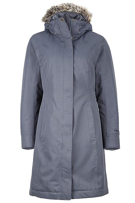Marmot 76560-1515-6 Abrigo, Mujer, Plateado, XL