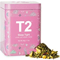 T2 Tea Sleep Tight Herbal Tea, Loose Leaf Tea in Limited Edition Tin, 50g, 50 g