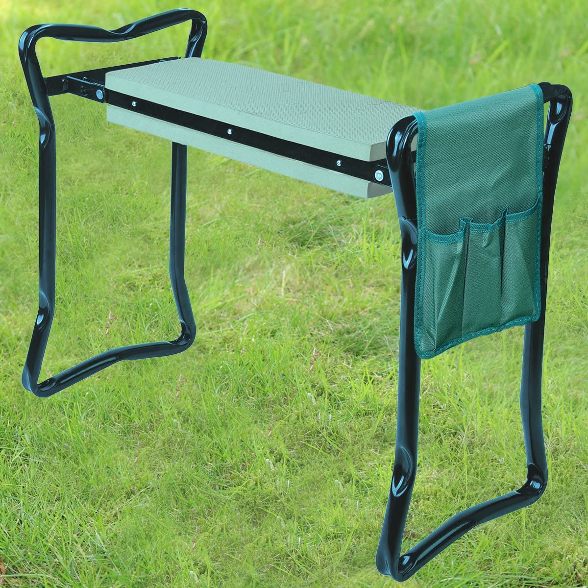 Versatile 2-in-1 Garden Kneeler With Handles Gardening Foldable