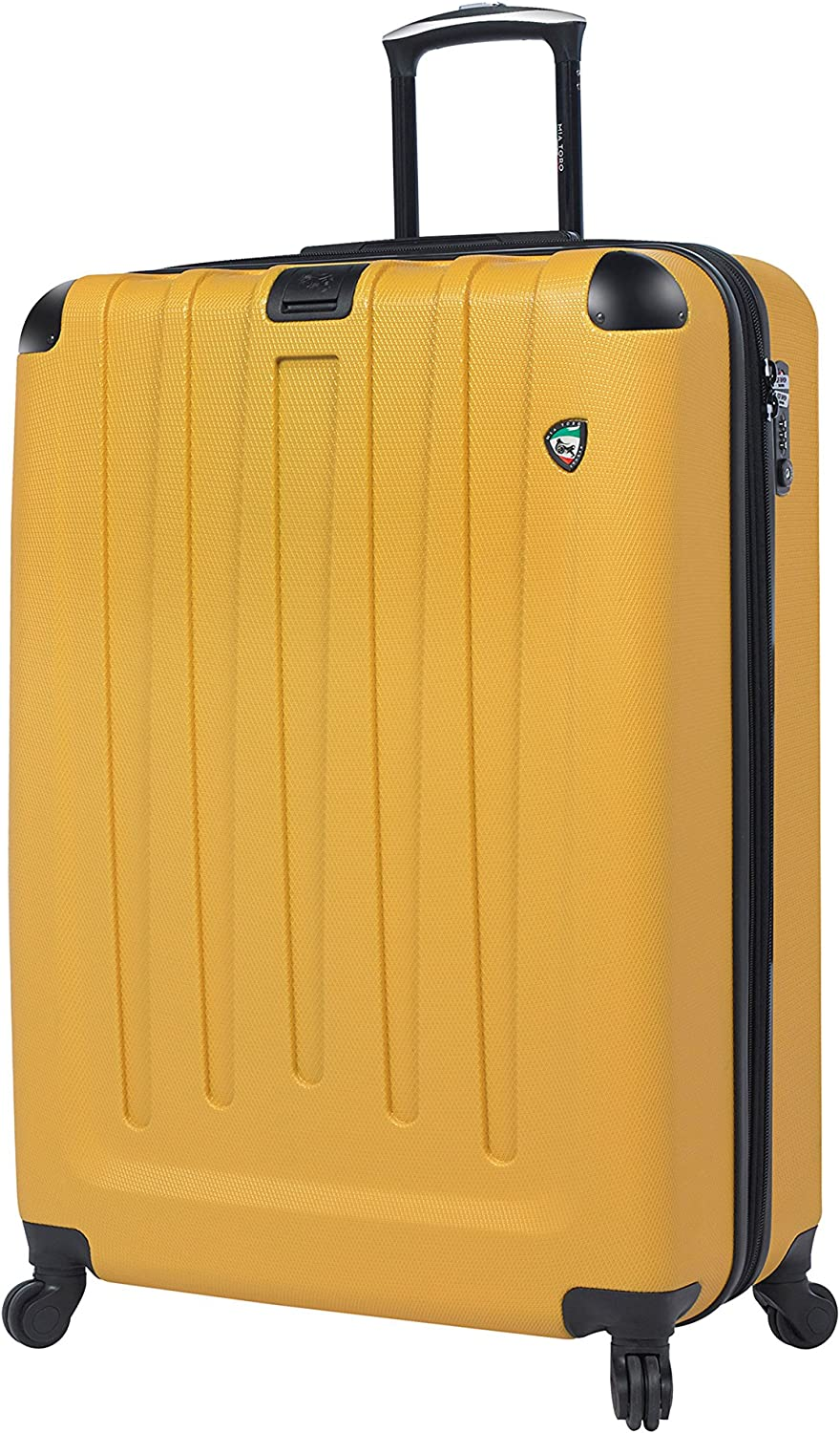 Yellow Mia Toro Italy Vistos Hardside Spinner Carry-on