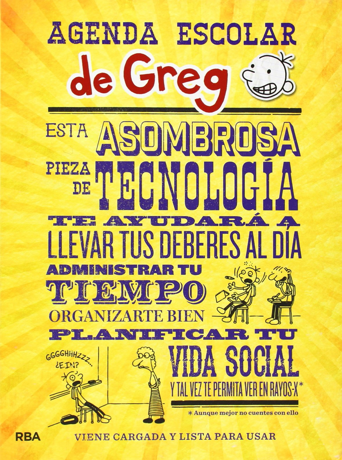 Agenda escolar de Greg: JEFF KINNEY : 9788427205314: Amazon ...