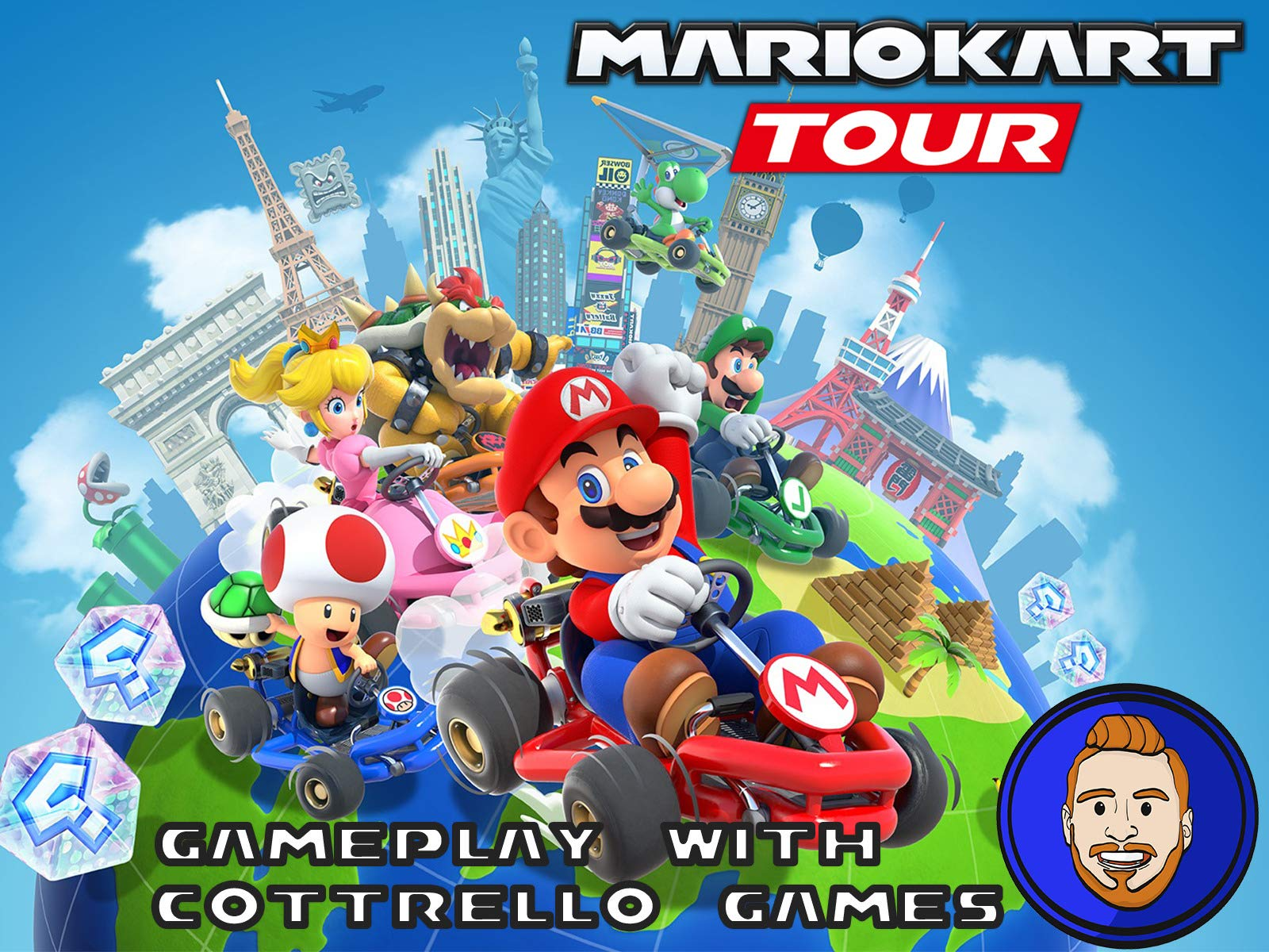 Mario Kart Tour Gameplay with Cottrello Games