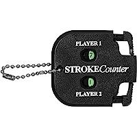 Longridge Golf akcesoria dla 2 graczy, licznik uderzeń, kolor czarny