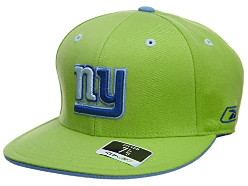 Reebok New York Jets Fitted Hat Mens Style  HAT667-LIME GREEN NAVY Size baa91451583