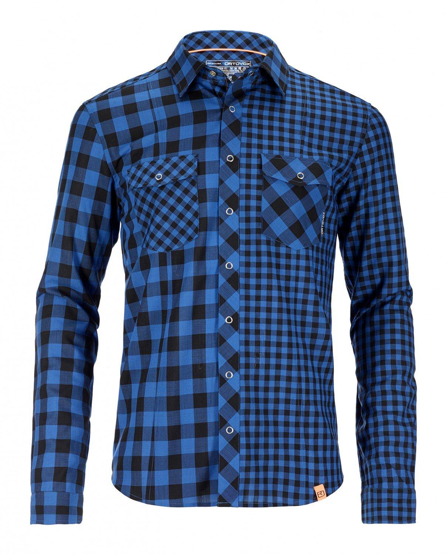 Ortovox t-Shirt à Manches Longues pour Homme Rock n Cool Wool DC Bleu - Bleu océan S