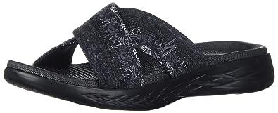 3125dbb859675 Skechers Performance Women's on-the-Go 600-Monarch Slide Sandal,black,