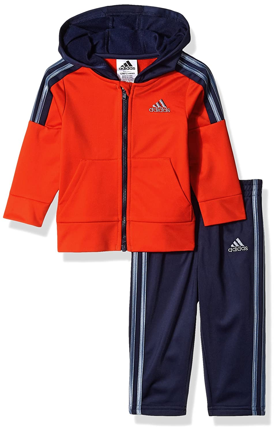 adidas Baby Boys' Zip Hoodie and Pant Set AG5995