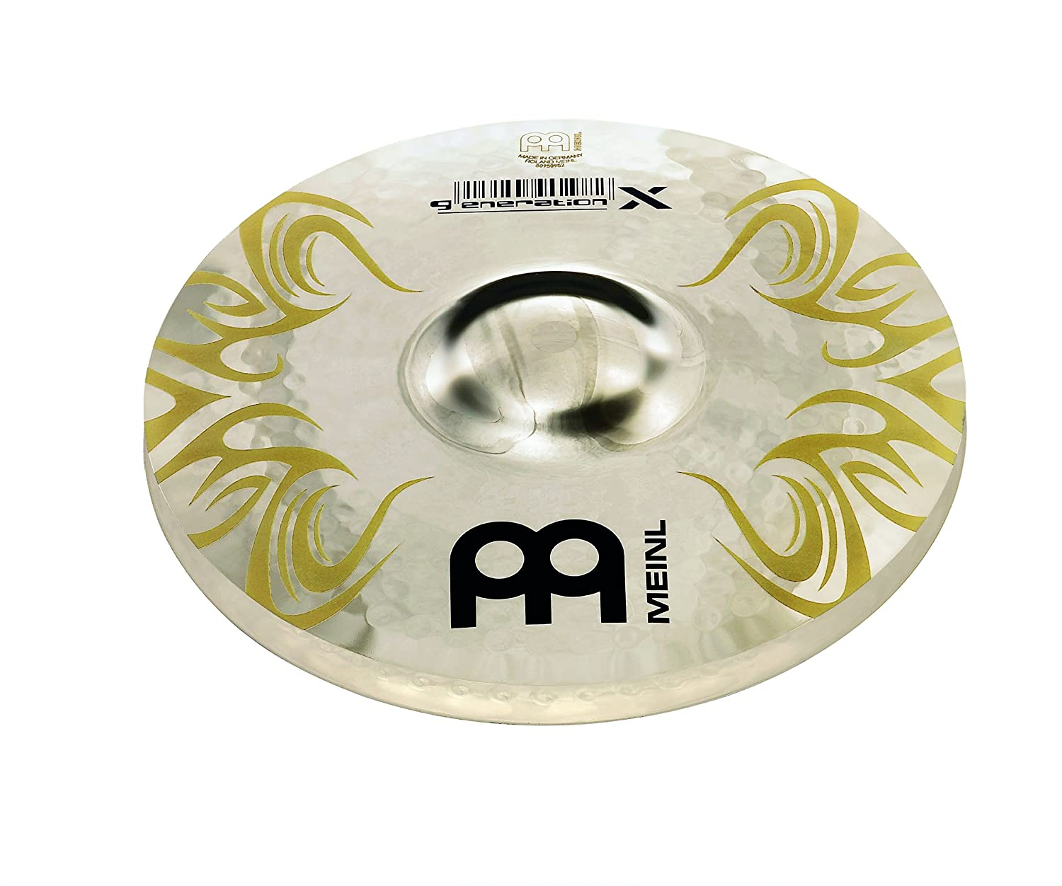 Meinl Cymbals GX-8FXH Generation-X 8-Inch FX Auxiliary Hi-Hat Cymbal Pair