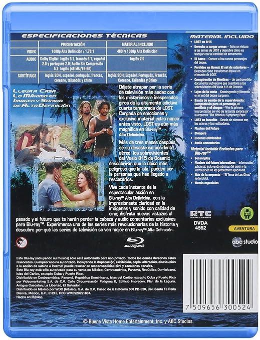 Amazon.com: LOST / TEMPORADA 4 / BLU RAY: Movies & TV