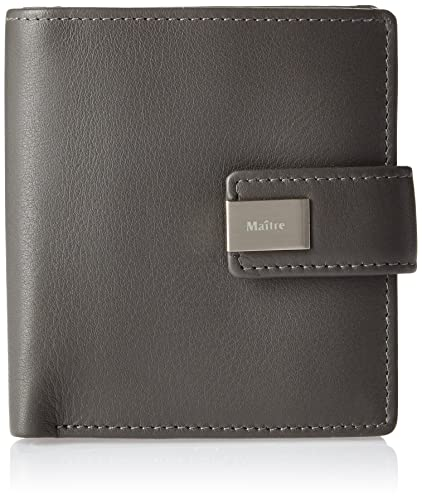 Maitre Ilena Dalene SV5F 4060000028 Damen Geldbörsen 10x10x1 cm (B x H x  T), Grau (Dark Grey 802): Amazon.de: Schuhe & Handtaschen