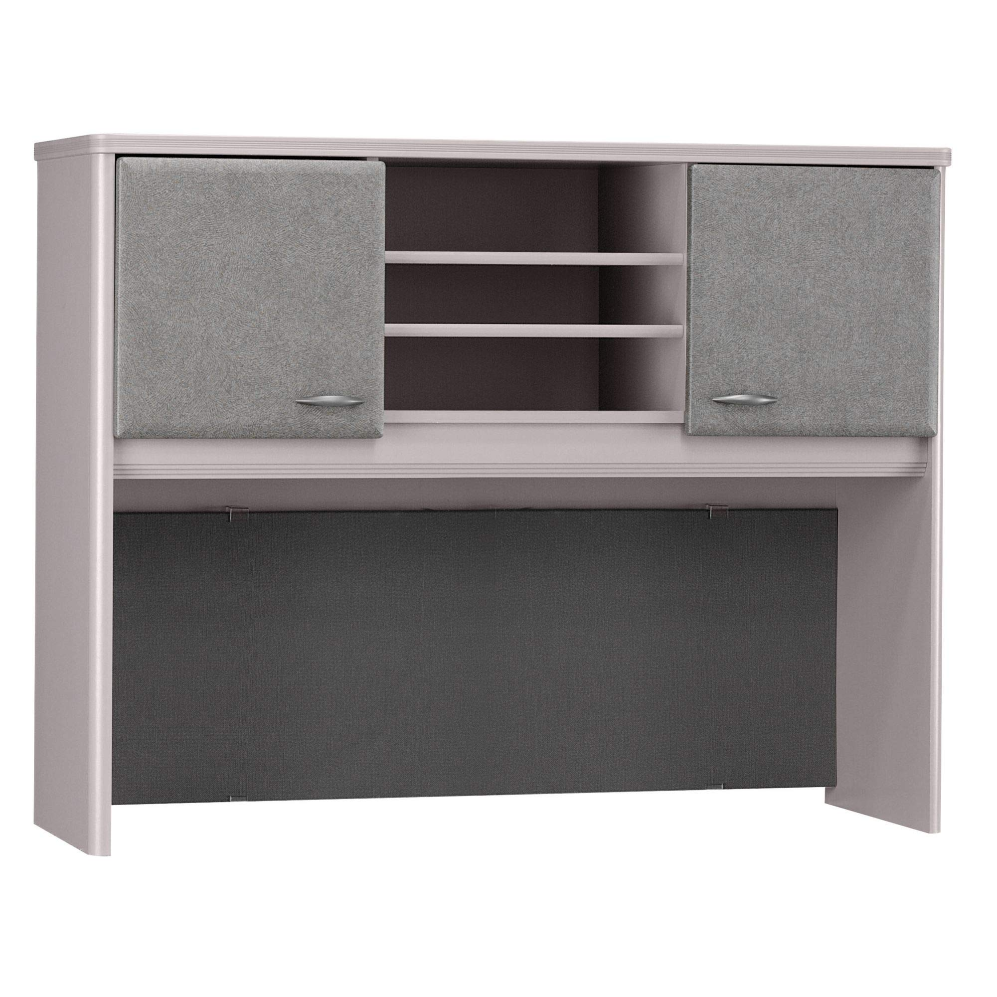 Bush Business Furniture Series A Collection 48W Hutch in Pewter by Bush Business Furniture