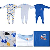 Baby Grow Full Body Suit Baby Romper Set of 3 for Boy & Girls
