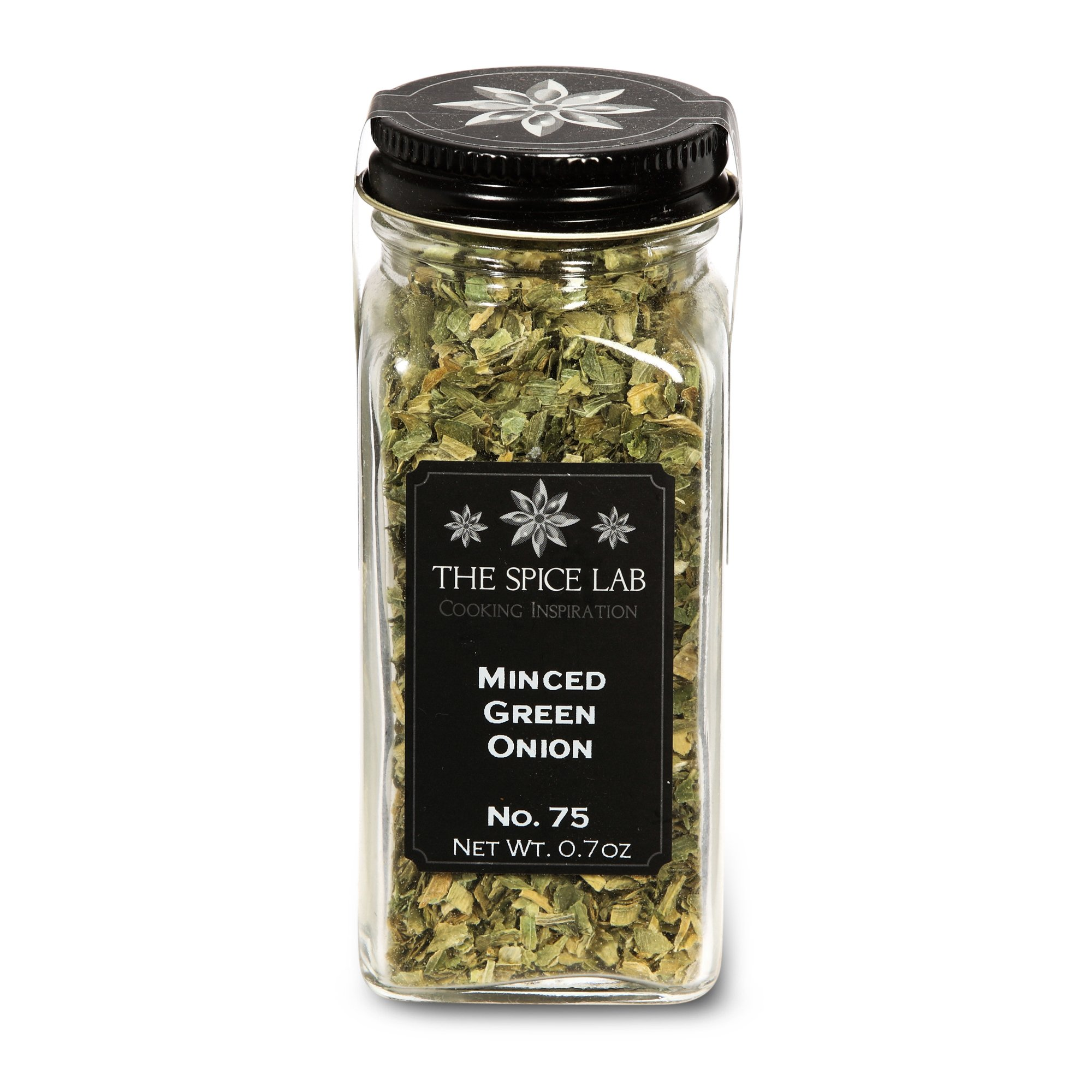 The Spice Lab No. 75 - Minced Green Onion - Kosher Gluten-Free Non-GMO All Natural Spice - French Jar