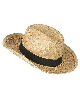 Sombrero cowboy paja niño  Amazon.es  Juguetes y juegos 5d26c5049b4