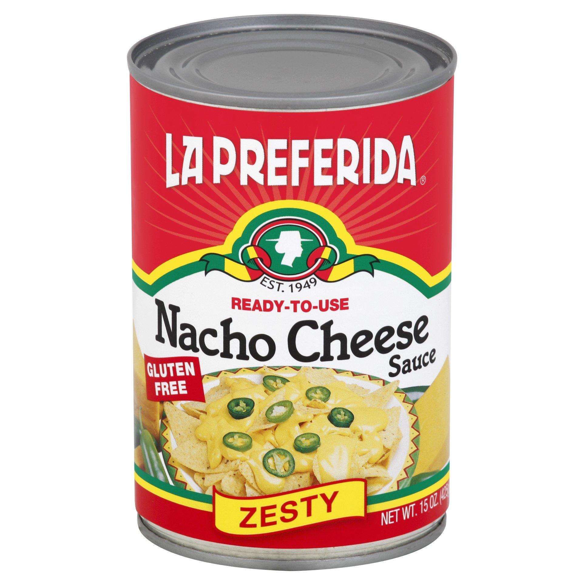 LA PREFERIDA SAUCE NACHO CHS, 15 OZ by LA PREFERIDA (Image #1)
