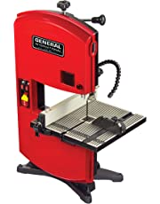 """General International General Intl BS5105 9"""" 2.5A Wood Cutting Band Saw, Red, Black & Gray"""