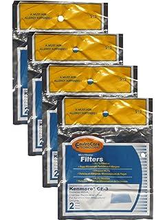Amazon.com: Rowenta ZR470 Paper Vacuum Cleaner Filters ...