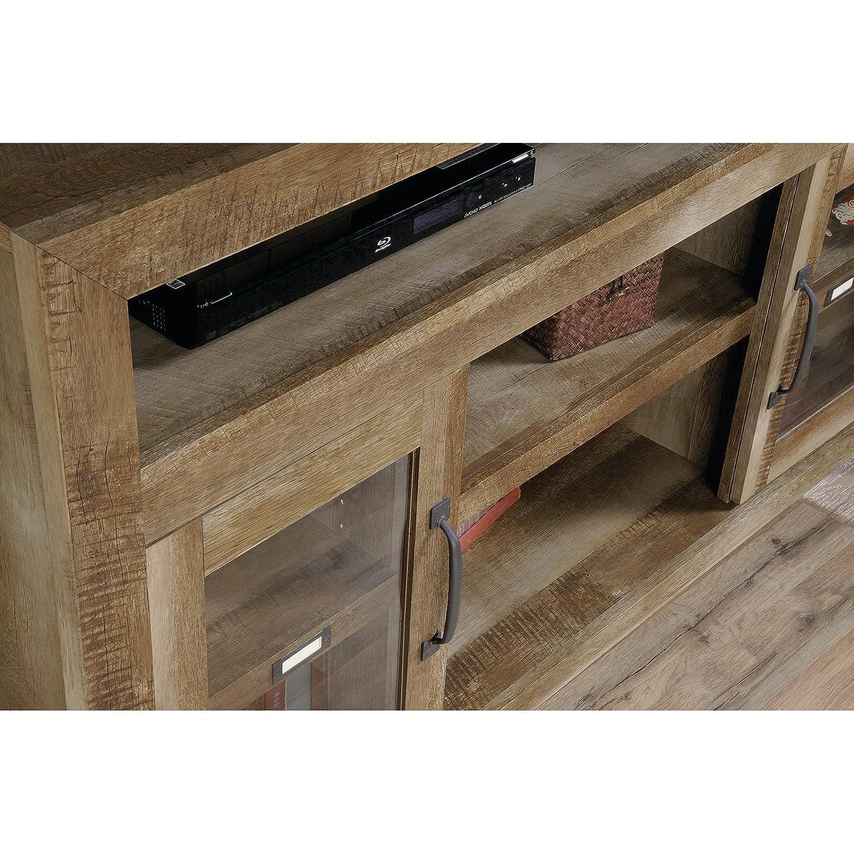 Amazon sauder dakota pass tv stand in craftsman oak home amazon sauder dakota pass tv stand in craftsman oak home audio theater geotapseo Gallery