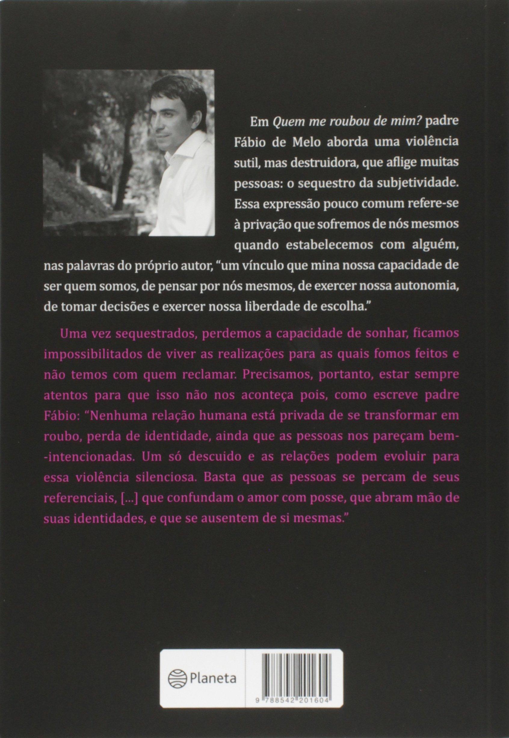 Tag Livro Padre Fabio De Melo Quem Me Roubou De Mim Baixar