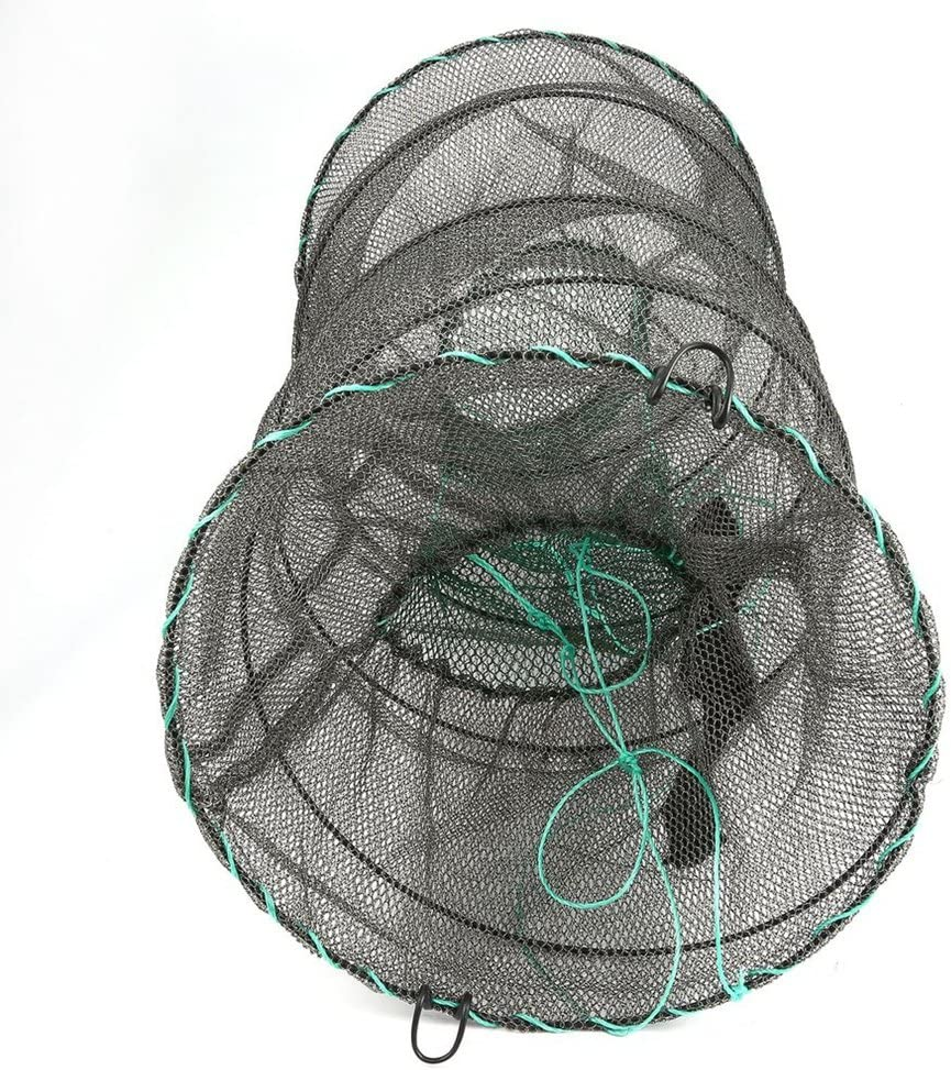 Crab Crayfish Lobster Catcher Pot Trap Fish Net EEL Prawn Shrimp Live Bait