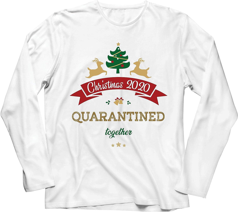 lepni.me Camiseta de Manga Larga para Hombre Navidad 2020 en ...