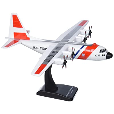 Daron Sky Kids US Coast Guard C-130H Vehicle (1/130 Scale): Toys & Games