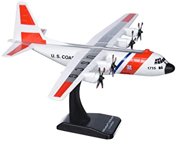 Daron Sky Kids US Coast Guard C-130H Vehicle (1/130 Scale)